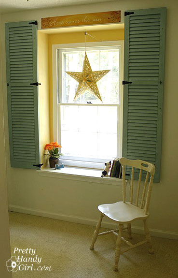 Dressing Up A Dormer Window With Shutters Pretty Handy Girl