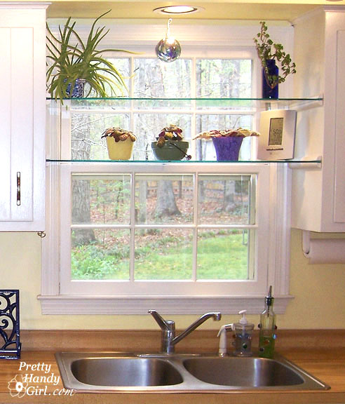 Diy Glass Window Shelves Pretty Handy Girl