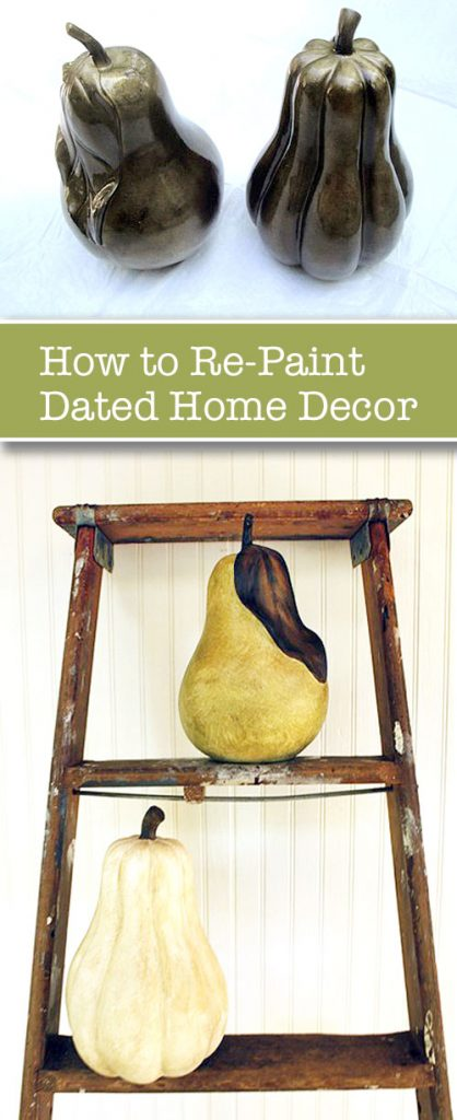 How to Re-Paint Dated Decor