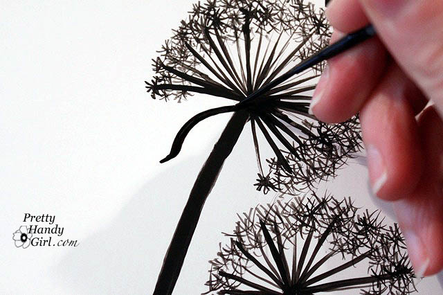 How to draw a dandelion blowing away step by step www for How to draw a dandelion step by step