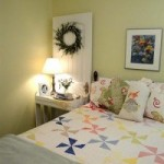 Painted Lampshade and a Quick Guest Room Makeover {Lowe's Creator}