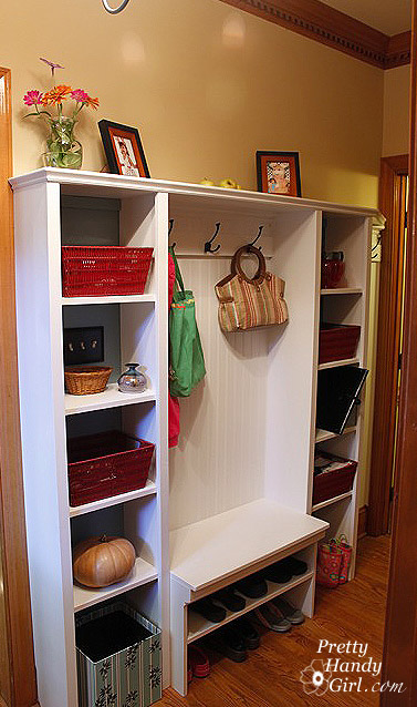 Storage And Organization In Your Mudroom Guest Post By High Heels And A Hammer