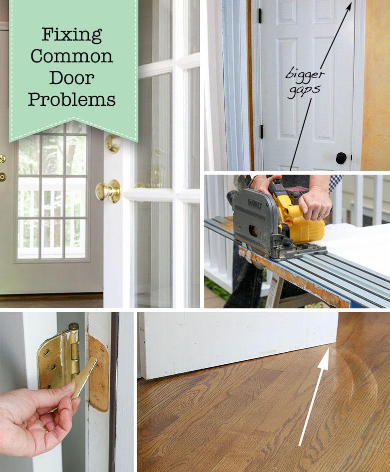 How to Fix common Door Problems
