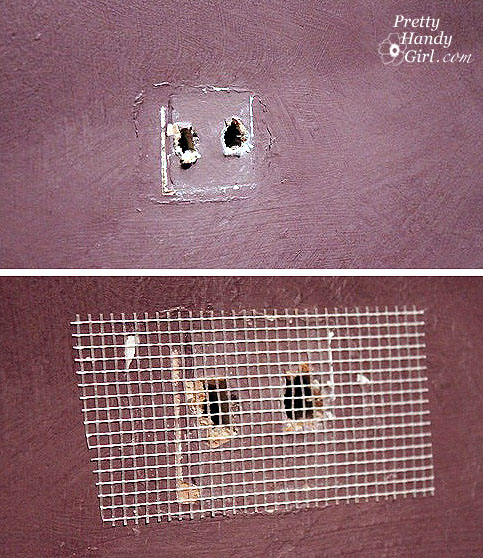 patch dywall holes for painting