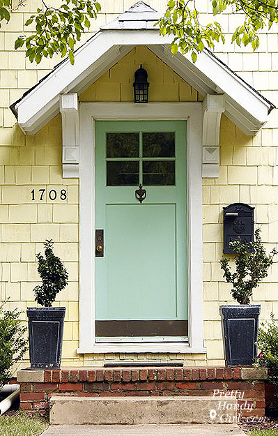 Go bold or go home show your true colors pretty handy girl for Home front door tint