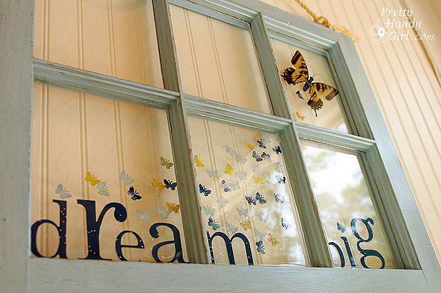 old window frame art ideas quotes