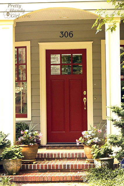 Go bold or go home show your true colors pretty handy girl Best red for front door