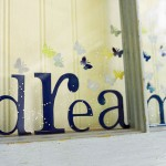 Dream Big Butterfly Window – Resin Craft