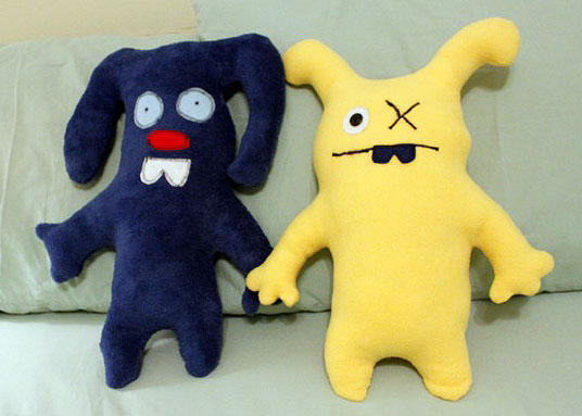 Monster Dolls Designed and Made by Your Kids   Pretty Handy Girl