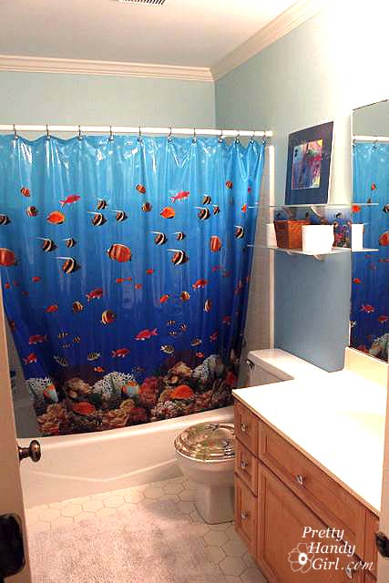 complete with fishy wallpaper - How To Remove Wallpaper Easily