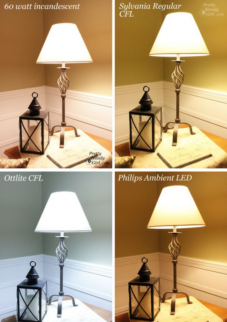 Cool white vs warm white led lights - The Living Room Table Lamp