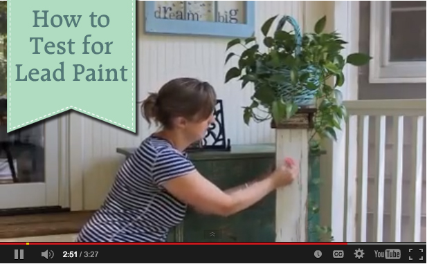 How to Easily Test for Lead Paint