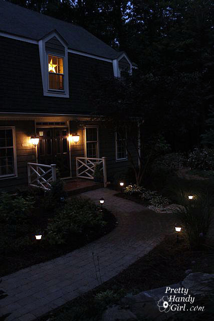 How to install low voltage landscape lights pretty handy girl save installing low voltage landscape lights has been aloadofball