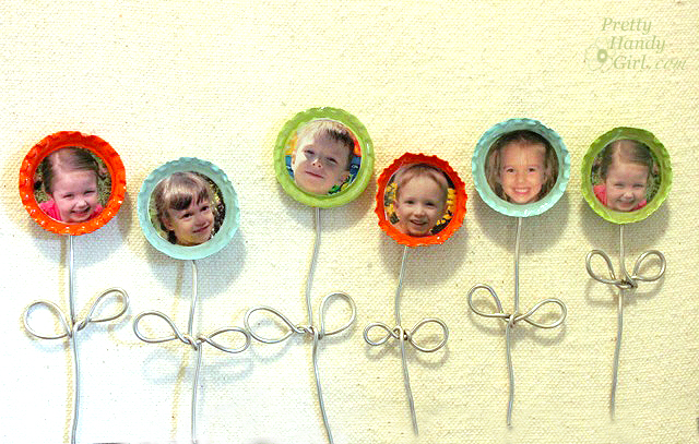 Bottle Cap Flower Magnets Swell Noel 15 Positively Splendid Crafts Sewing Recipes And Home Decor