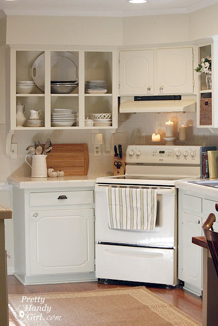 DIY on a Dime Kitchen Cabinet Plans - Pretty Handy Girl