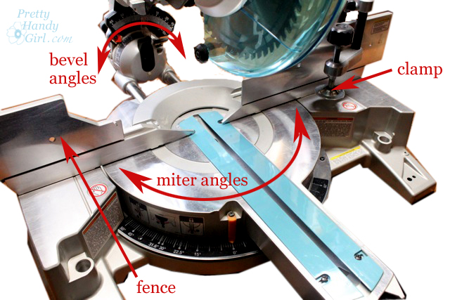 How To Use A Miter Saw Tool Tutorial Friday Pretty