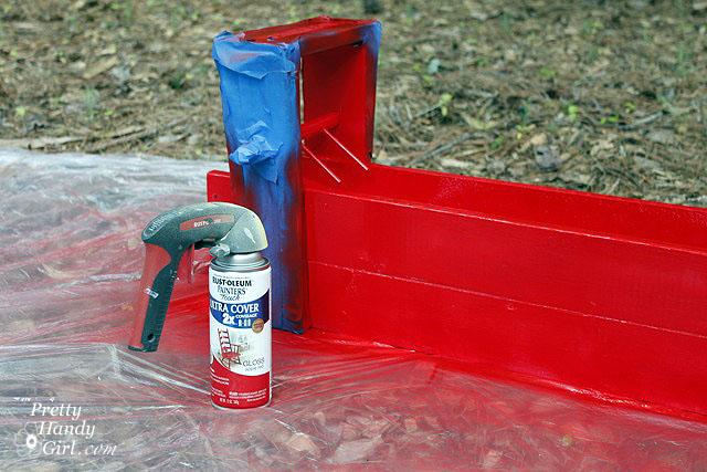 Metallic Red Spray Paint Spray Paint Art