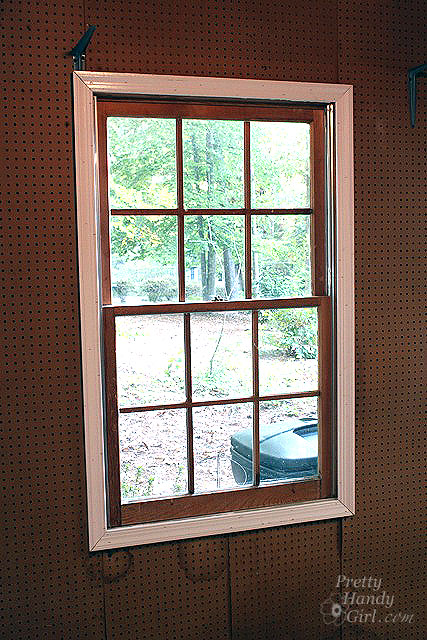 Replacement Windows Cost >> How to Use a Pneumatic Finish Nailer and Air Compressor (with video) - Pretty Handy Girl