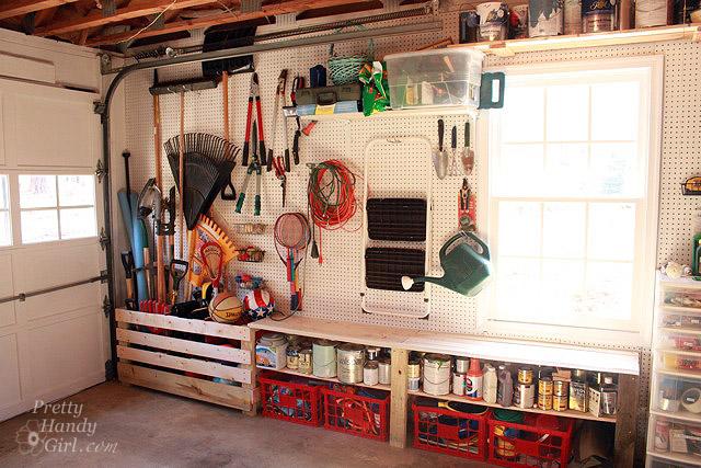 Garage Workshop Makeover Final Reveal Thanks To The
