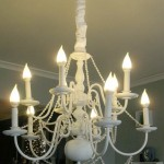 Show Stopping Beaded Chandelier Makeover – Guest Post by Modern Parsonage
