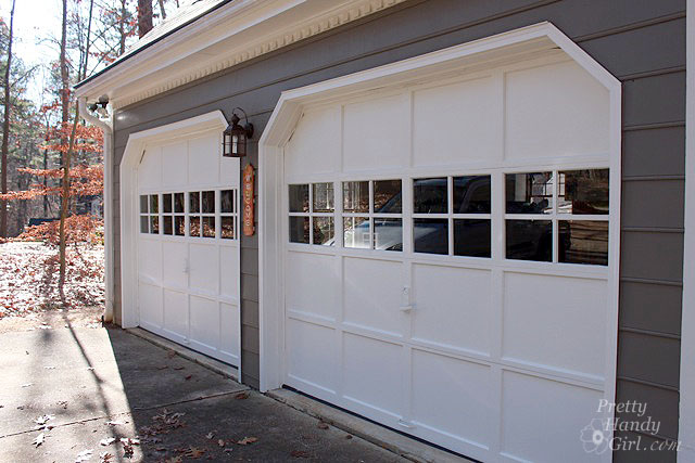 Adding Grilles to Garage Door Windows Pretty Handy Girl