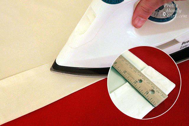 Glue safety edge bottom bar