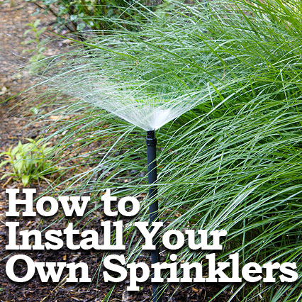 Installing Your Own Sprinkler System Pretty Handy Girl