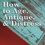 Aging and Antiquing Furniture Legs
