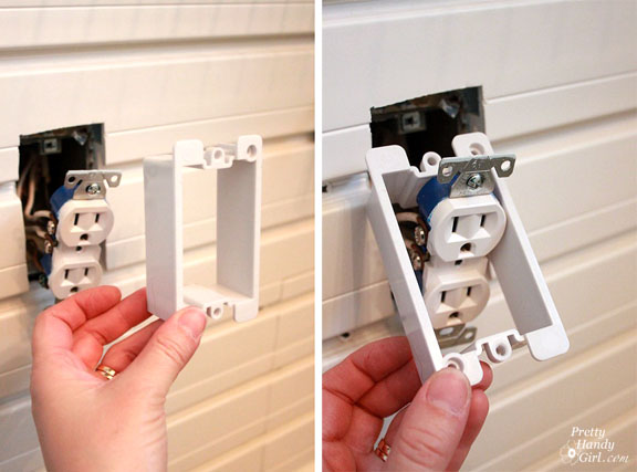 Save & How to Add an Outlet Extender - Pretty Handy Girl Aboutintivar.Com