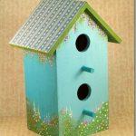 Painted Flower Garden Birdhouse Tutorial – DIY Talent Mural Maker