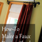 Making a Faux Roman Shade – DIY Talent SAS Interiors