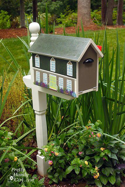 Make A House Shaped Mailbox A Lowe S Creative Idea