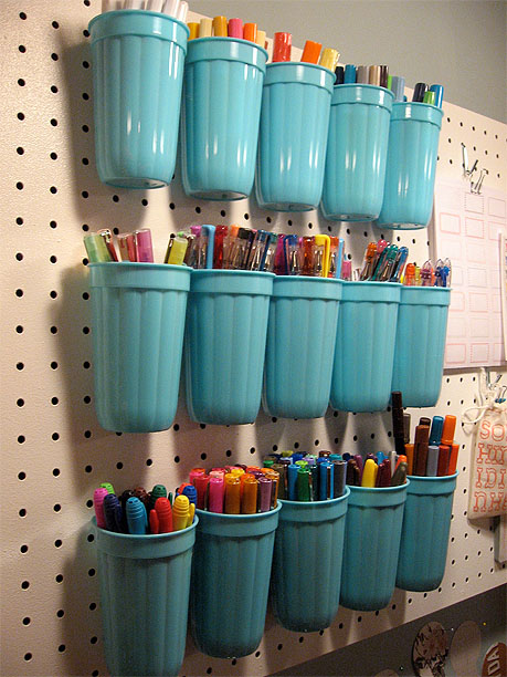 Creative Art Supply Storage Pretty Handy Girl