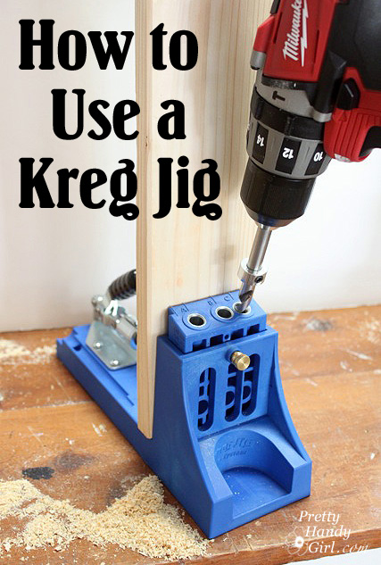 How to use a kreg jig pretty handy girl how to use a kreg jig solutioingenieria Image collections