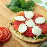 Grilled Corn Pesto Pizza