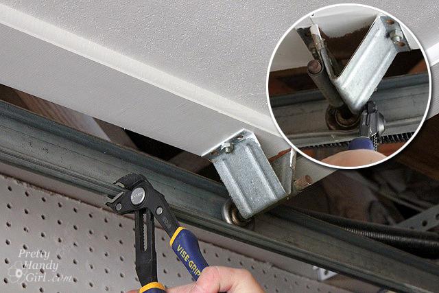 How To Replace Garage Door Rollers Pretty Handy Girl