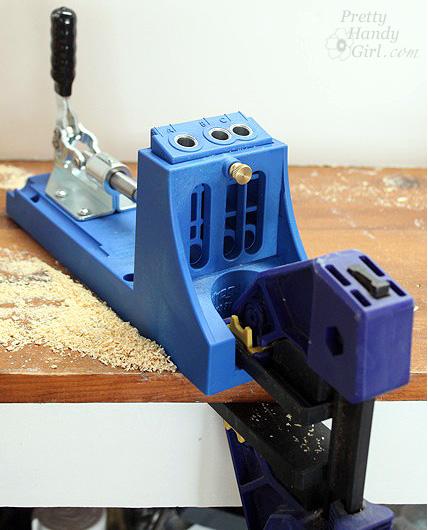 kreg jig bench clamp