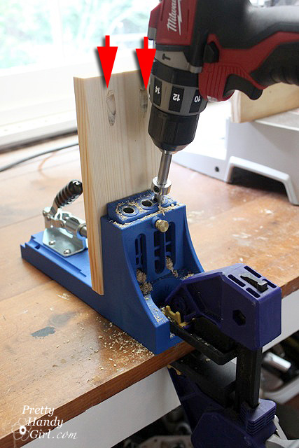 (New to a Kreg Jig? Why not Learn how to use a Kreg Jig here.)