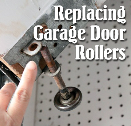 How To Replace Garage Door Rollers Pretty Handy Girl