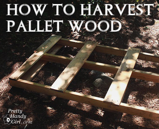 How to Salvage Wood From Pallets