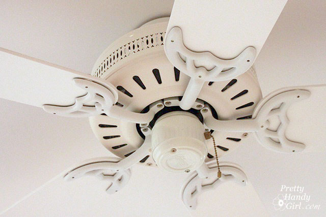 Update your ceiling fan with paint pretty handy girl save mozeypictures