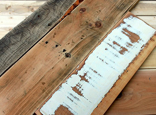 How to make new wood look old weathered and rustic pretty handy girl - How to make rustic wood furniture ...