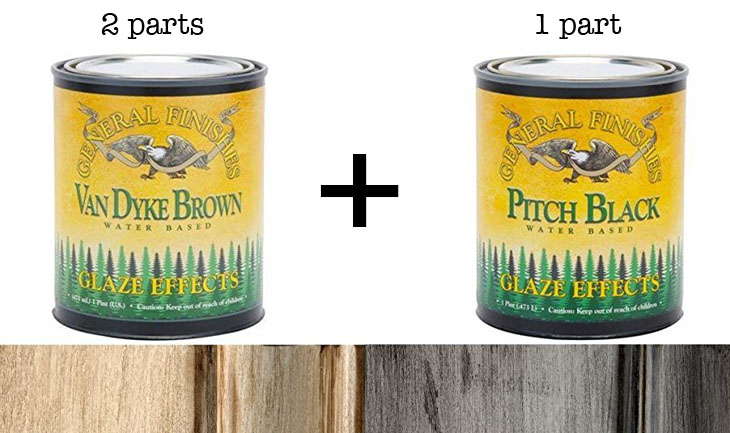 Secret Formula to Age Wood