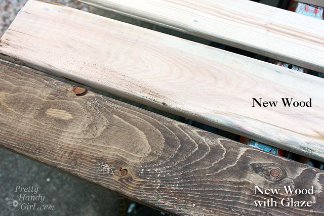 How to Make New Wood Look Old Weathered and Rustic - Pretty Handy