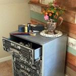 Faux Zinc and Chalkboard File Cabinet – Lowe's Creative Idea