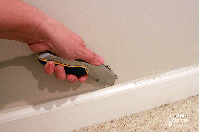 Baseboard Trim How To Remove And How To Install Pretty