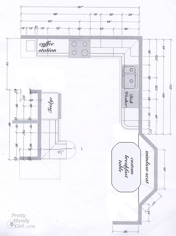 Kitchen Plan Update - Pretty Handy Girl