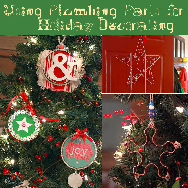Plumb Crazy Over These Christmas Ornaments (from Plumbing