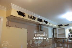 How to Remove a Soffit – Kitchen Renovation Update