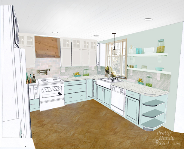 My Kitchen Design Plans
